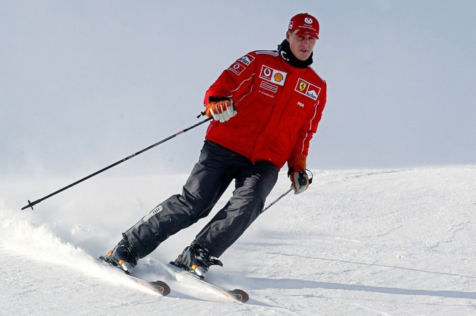 Michael Schumacher sci neve