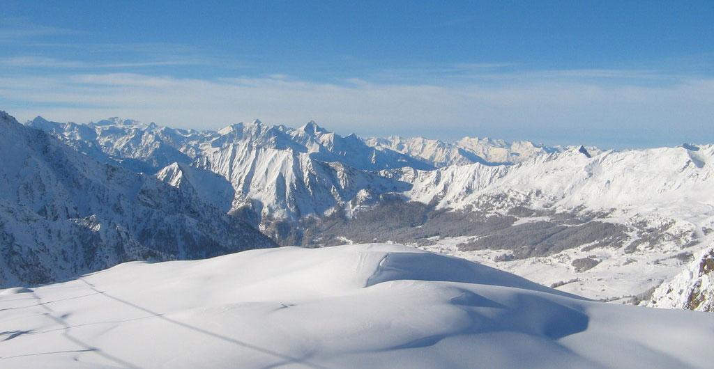 Località sciistiche prese d'assalto dopo la Super Nevicata