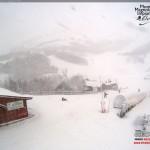 Nevicata di Santo Stefano ad Ovindoli - Appennini