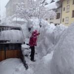 Super Nevicata a Gressoney - foto di Paolo Vigano