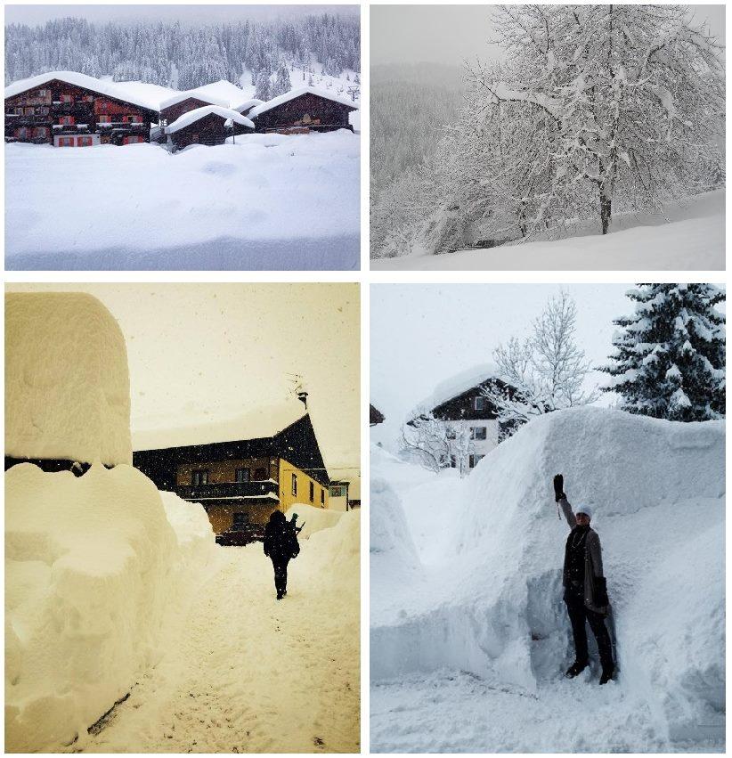 NEVICATE INCREDIBILI, Metri di Neve Fresca sulle Alpi