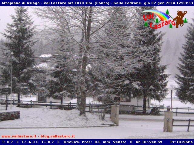 Neve Altopiano di Asiago