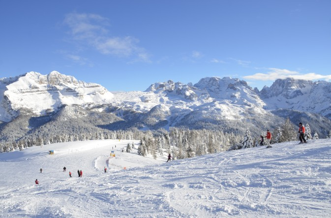 neve fresca e sole nel weekend