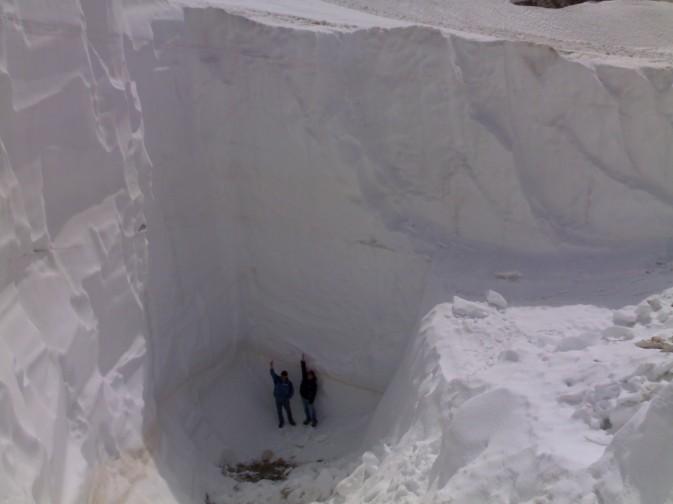Sella Nevea - Neve inverno 2008/09