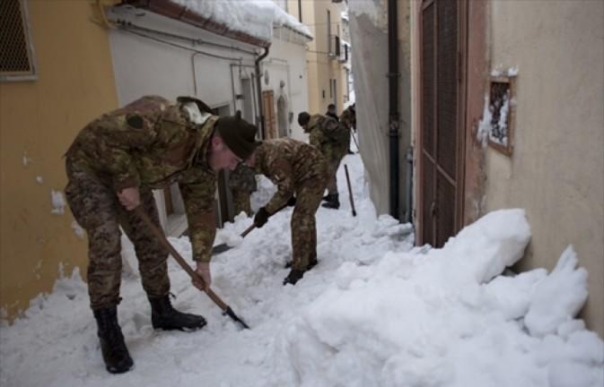 esercito veneto neve