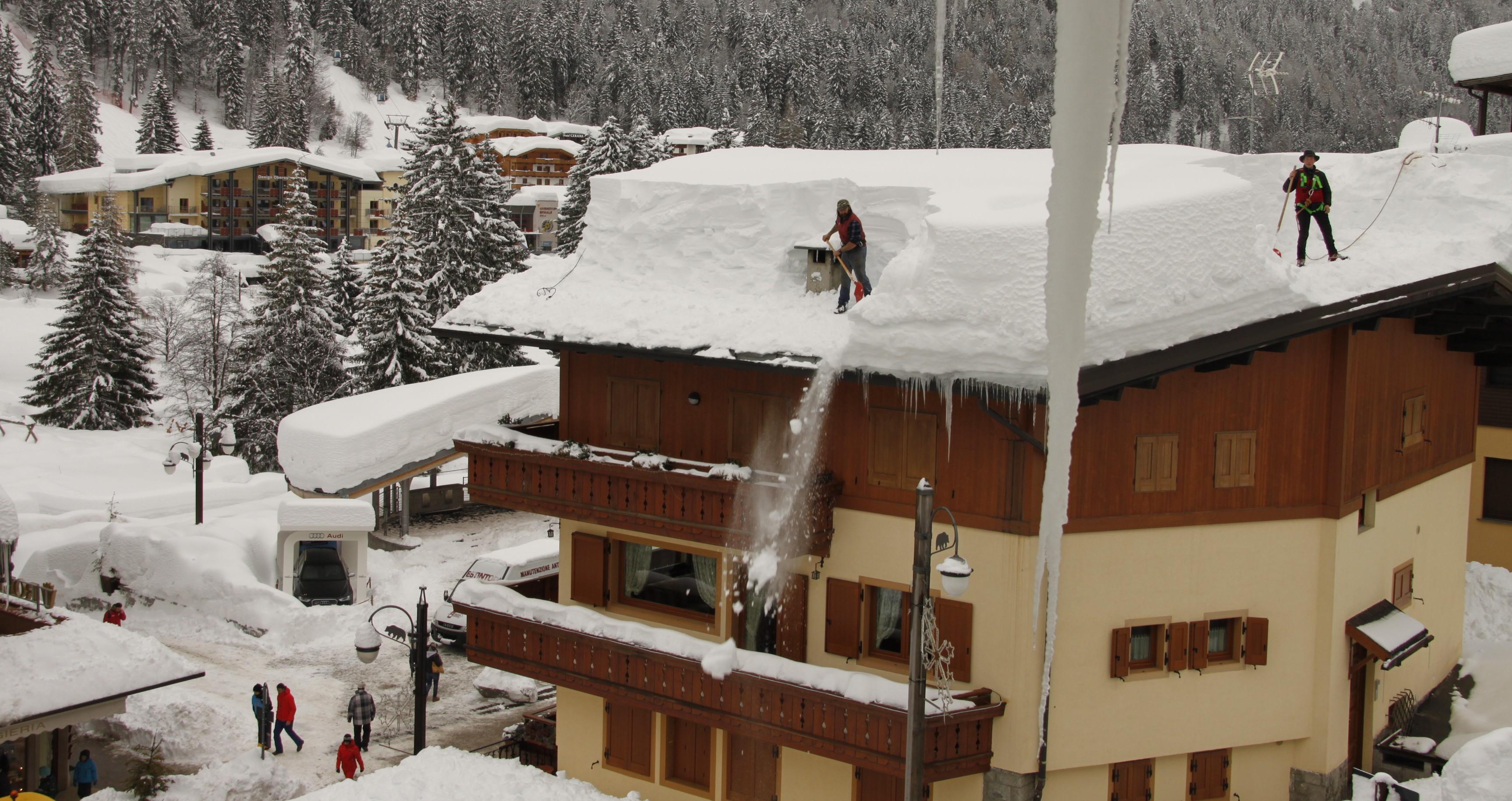 The Day After Tomorrow: in Veneto interviene l'esercito, Neve fino a Mercoledì