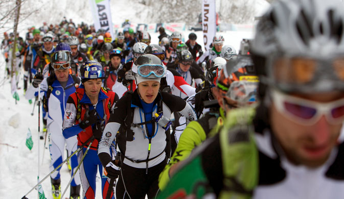la pitturina ski race 2014