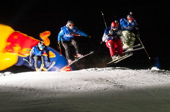 redbull ski contest