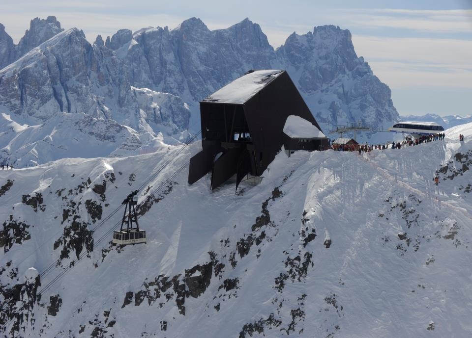 Dolomiti: Riaperta la funivia Col Margherita al Passo San Pellegrino