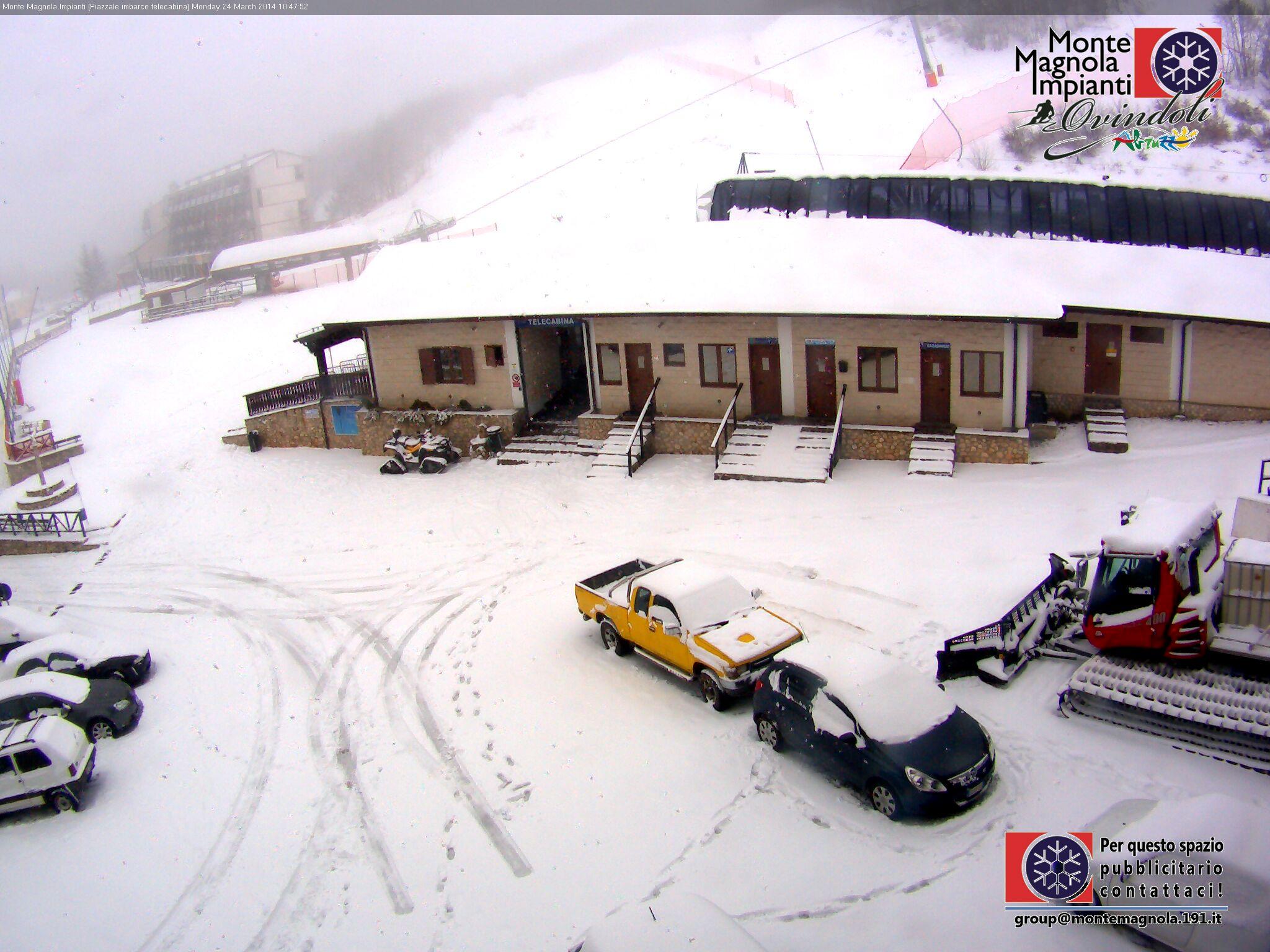 Non solo Alpi, la Neve raggiunge anche gli Appennini