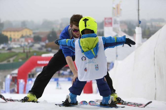 imparare a sciare modena skipass