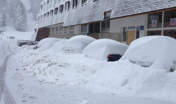 Fino ad 1 metro di neve fresca sulle Alpi, nevicate anche a 900m