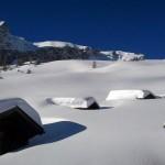 Neve solo in alta montagna, ma l'autunno ha i giorni contati