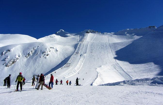 ghiacciaio presena apertura impianti
