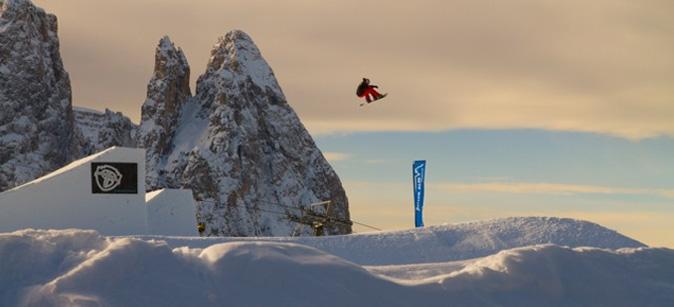 Alpe di Siusi Snowpark premiato miglior park del 2014
