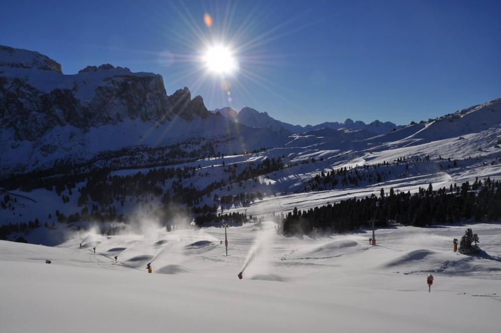 Val Gardena: aperte le prime piste da sci con skipass scontato del 50%