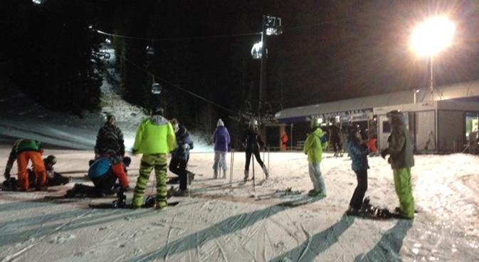 sci gratis notturna paganella ski