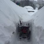 Prati di Tivo - sgombero Neve