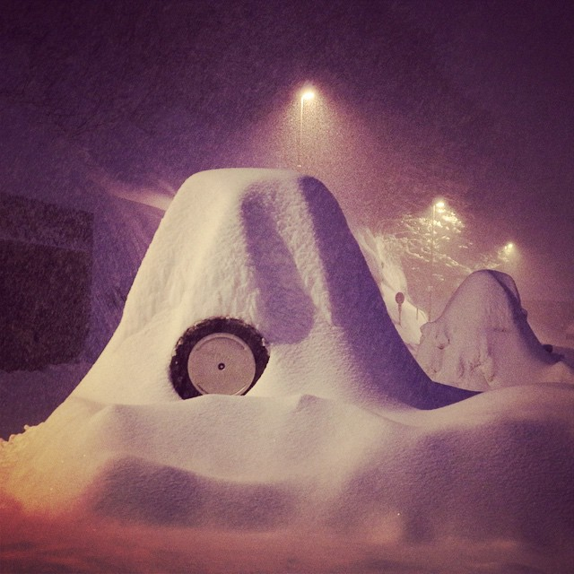 Foto della Super Nevicata a Prato Nevoso