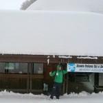 Tetto innevato Scuola Sci Prato Nevoso