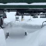 Impianti sciistici sotto la Neve