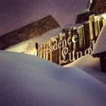 Residence Stalle Lunghe sommerso dalla Neve