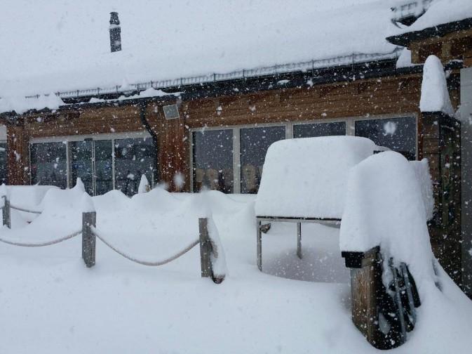Corvatsch neve maggio
