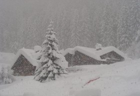 Meteo: In arrivo nevicate abbondanti sulle Alpi