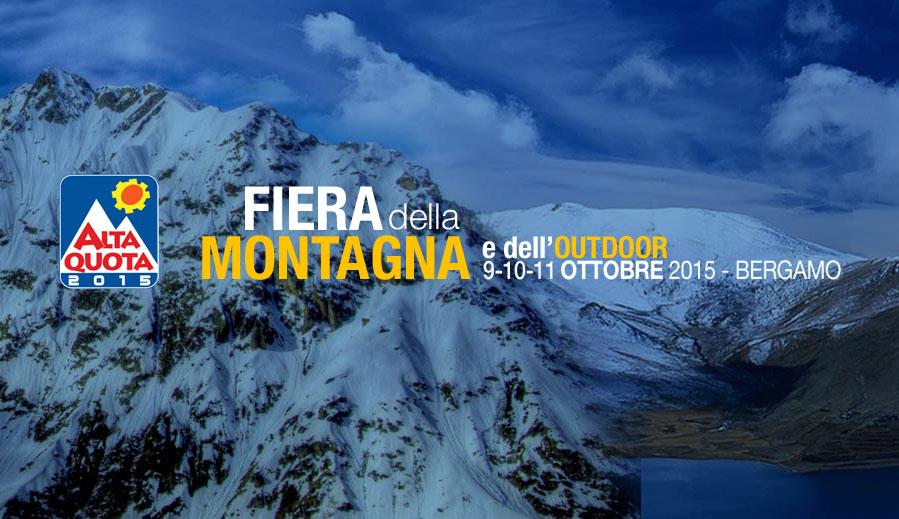 Tutte le info su Alta Quota 2015, dal 9 all'11 ottobre alla Fiera di Bergamo