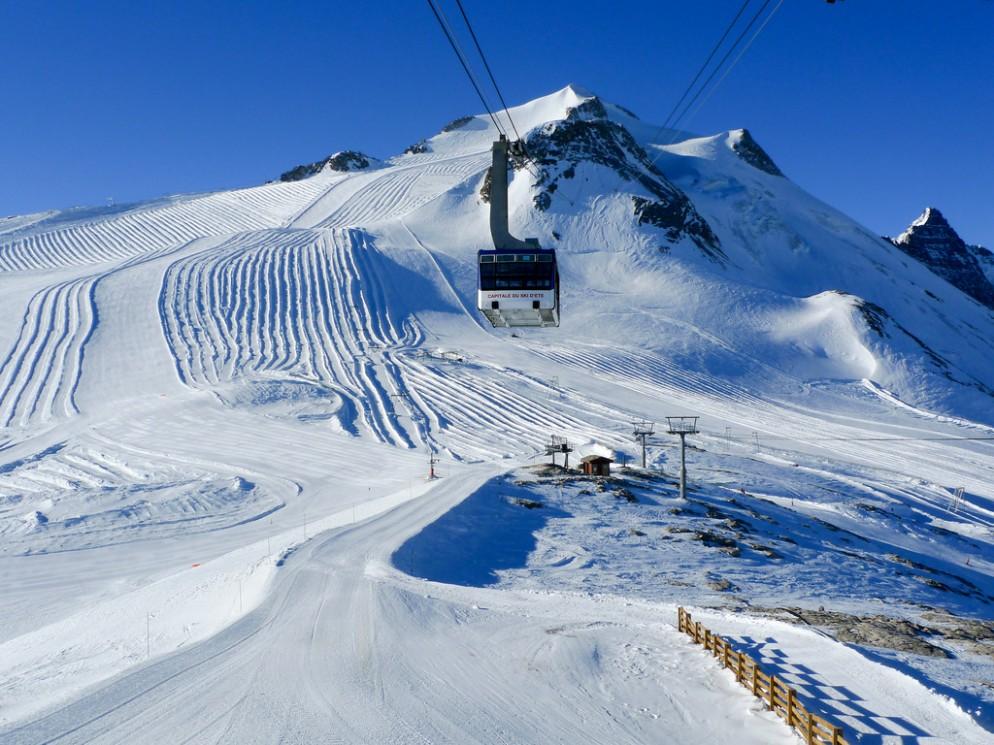 Continua l'apertura impianti a Tignes, neve fresca e piste ottime