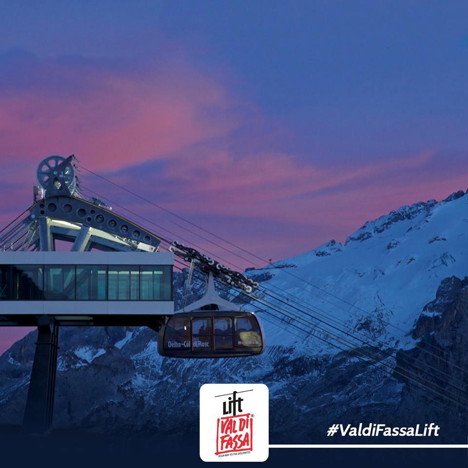 Nuova Funivia in Val di Fassa - foto credits: Val di Fassa Lift
