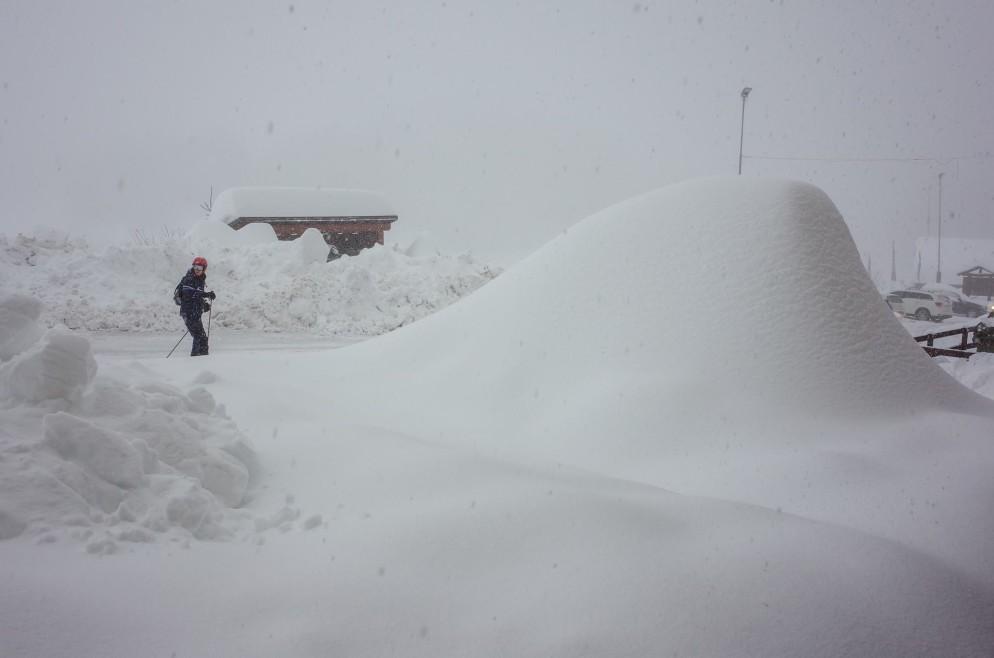 Oltre 1 metro di Neve Fresca sulle Alpi, già superati i 3 metri a Sella Nevea