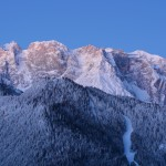Alba sul monte agudo - Auronzo di Cadore