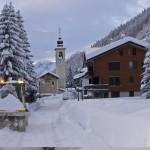 Neve fresca nei paesi del Monterosa Ski