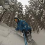 Fuoripista Neve fresca Alpe Cermis