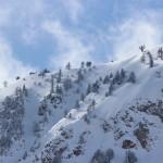 Montagne innevate a bardonecchia