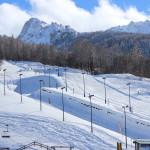 Neve fresca sul Park Bardonecchia