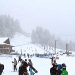 Nevicata Comprensorio Bardonecchia Ski