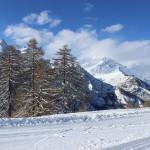 Paesaggio innevato dopo la nevicata - Bardonecchia