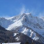 Panorama dopo la nevicata a Bardonecchia