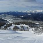 Panorama invernale da Cima Verena - Roana