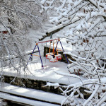 Parco Giochi sotto la neve Aprica