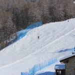 Piste da sci dopo la nevicata a Bardonecchia