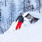 Sci fuoripista Sappada Plodn Dolomiti - copyright Studio WLTP