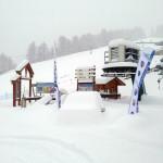 impianti sotto la neve a Bardonecchia