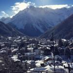 panorama innevato adamello ski