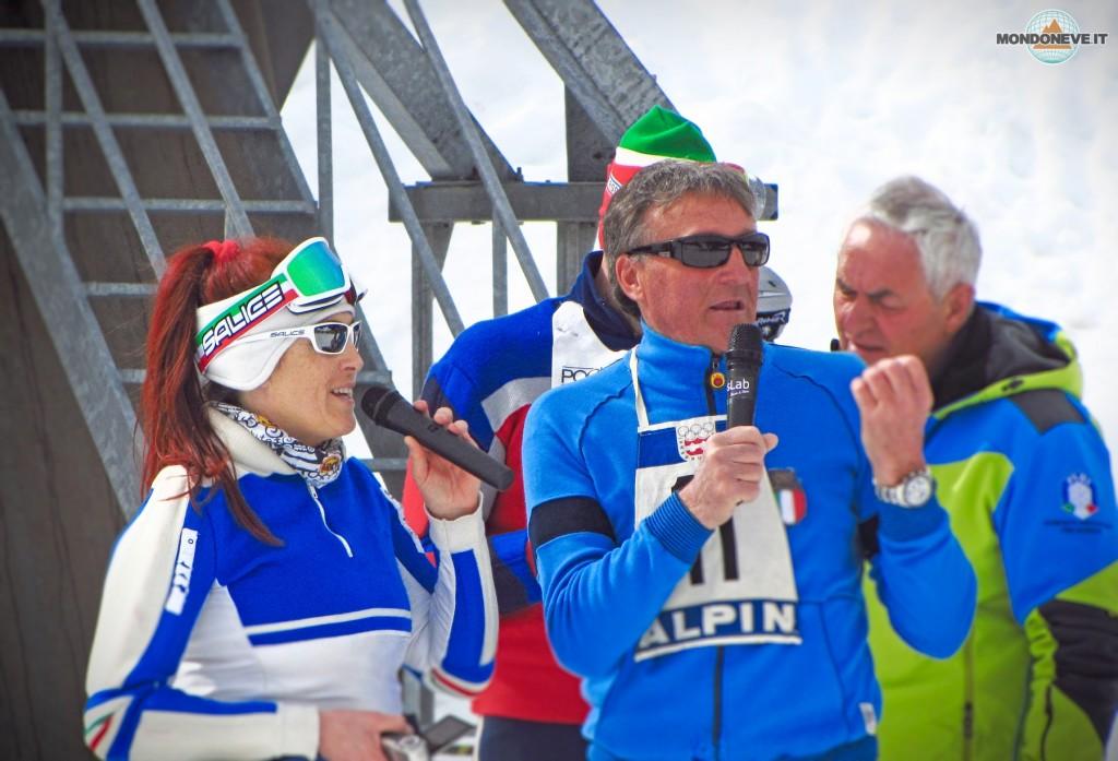 Dody Nicolussi e Piero Gros, telecronaca d'eccezione per lo Slalom Storico