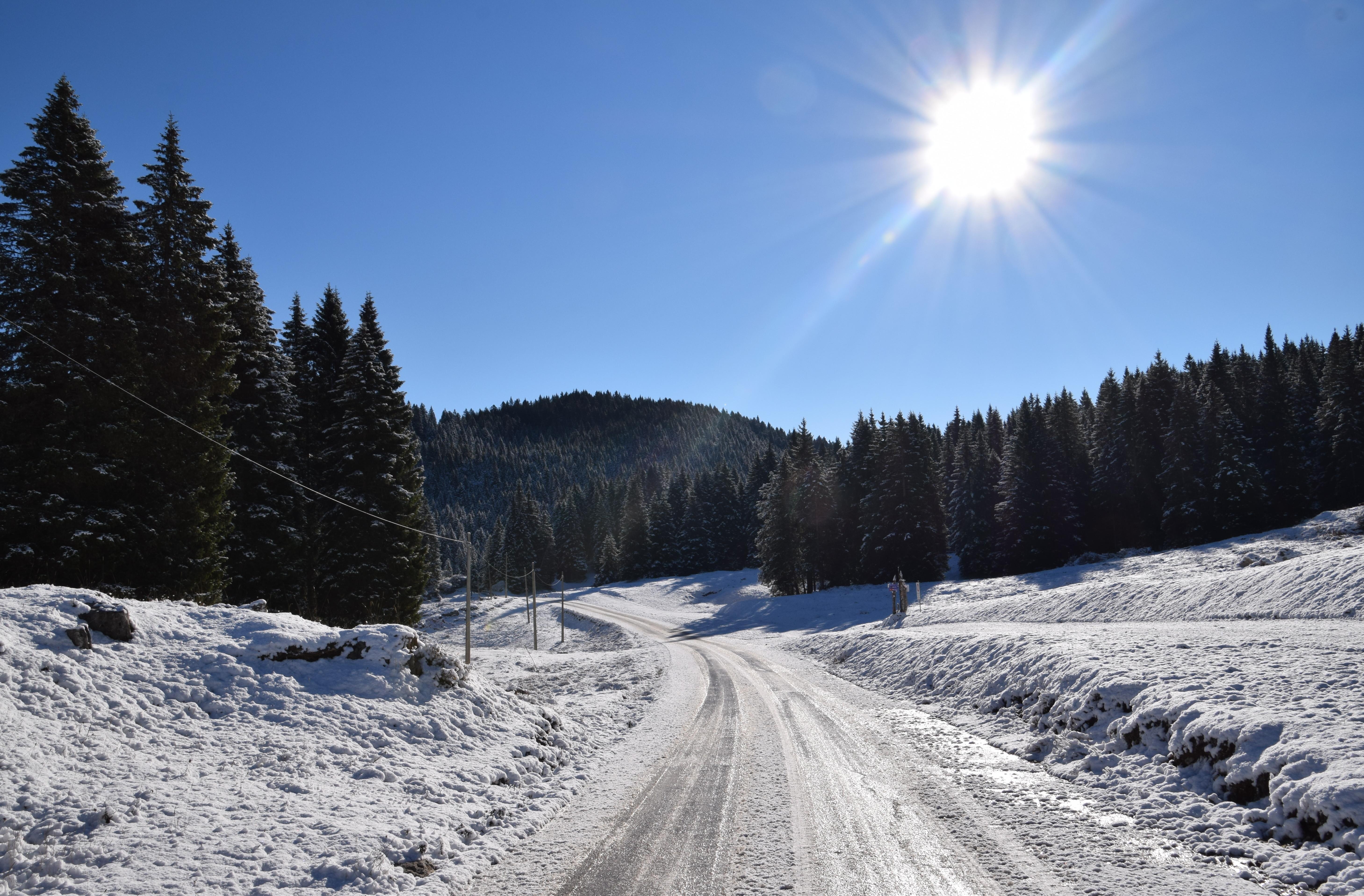 Foto Gallery: La prima Neve della stagione sull'Altopiano di Asiago