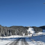 Strada verso Monte Verena
