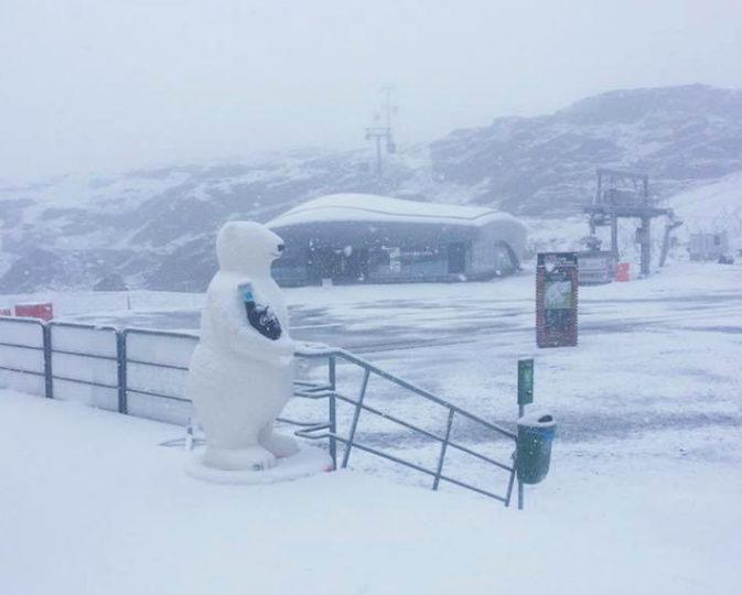 Nevicata al Pitztal  - 1 settembre